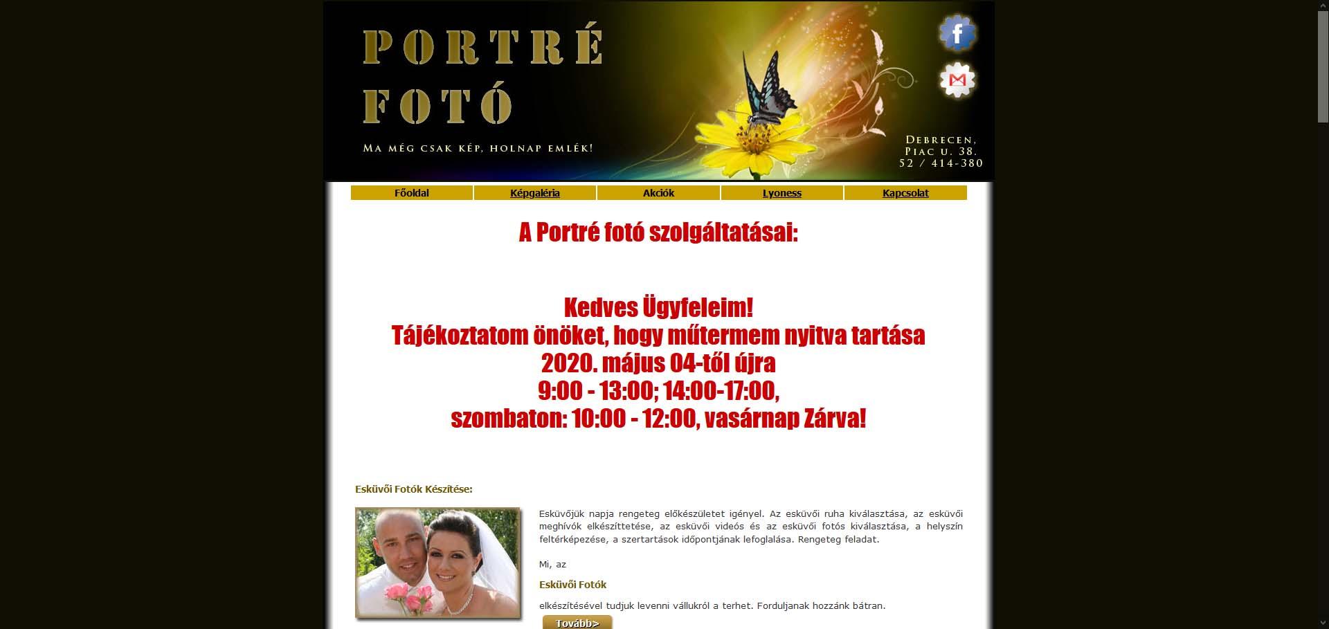 Portréfotó Debrecen